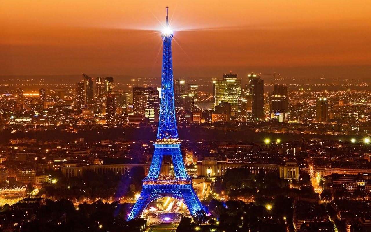Paris Torre Eiffel De Noche Fondos De Pantalla