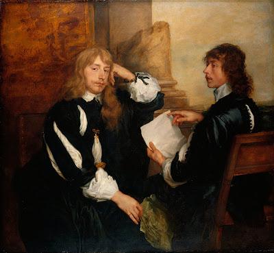 Van Dyck - Thomas Killigrew and William,Lord Crofts,1638.