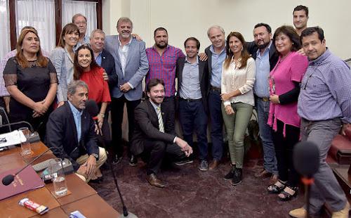 Reconocimiento del Concejo Deliberante de Salta para Diego Fortuny
