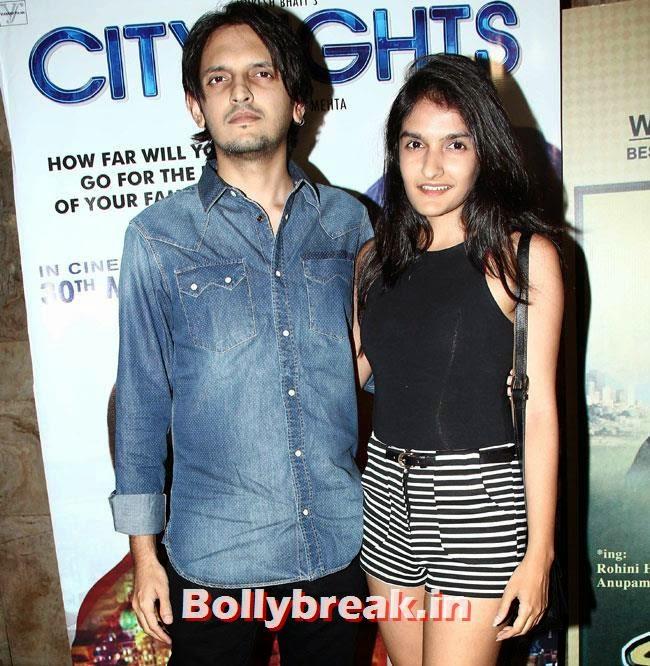 Vishesh Bhatt and Sakshi Bhatt
