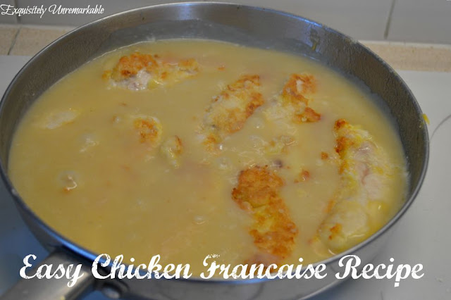 Easy Chicken Francaise Recipe