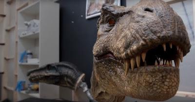 Animatronic de Jurassic World El reino caído
