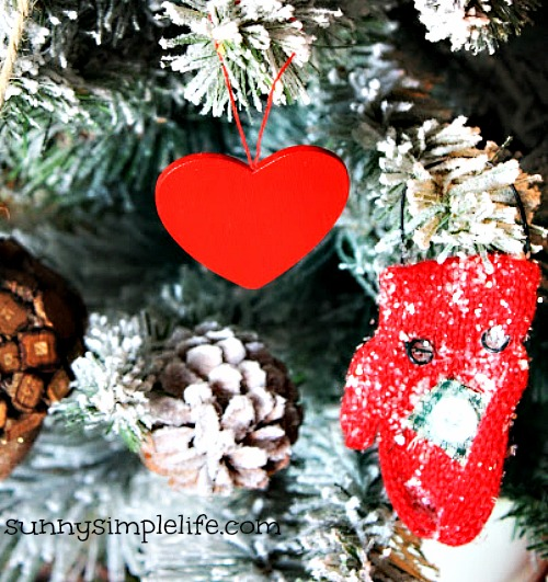winter tree, Valentine tree