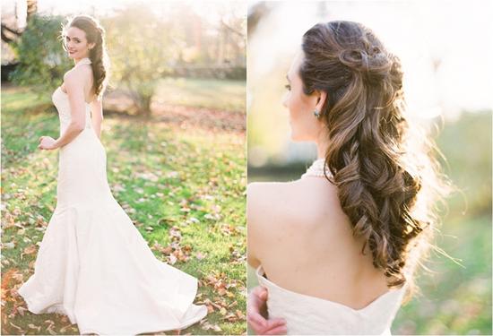 Tremendous Wedding Hairstyles For Medium Length Hair Half Up Half Down Short Hairstyles Gunalazisus