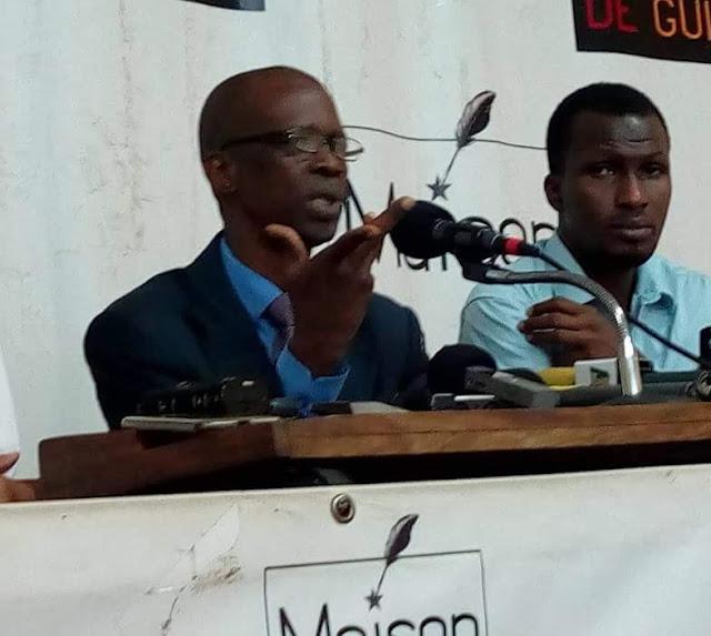 Boussiriou Diallo porte-parole de la coalition