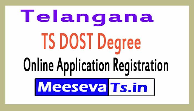 TS DOST Degree Online Application Registration