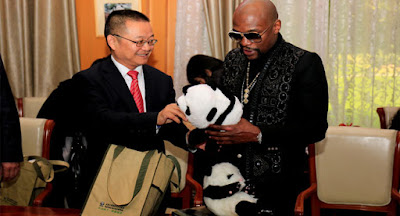 Mayweather 'Adopts' Panda, Names It After Himself.