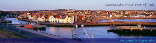 Eyemouth Scotland Harbour