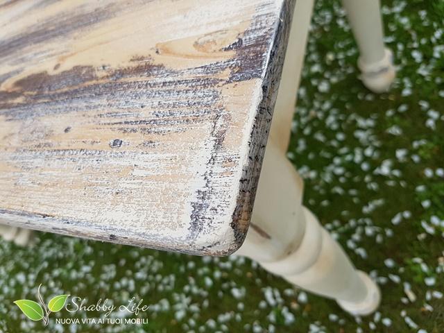 restyling di un tavolo dettaglio top