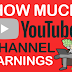 How Much YouTube Channel Earnings