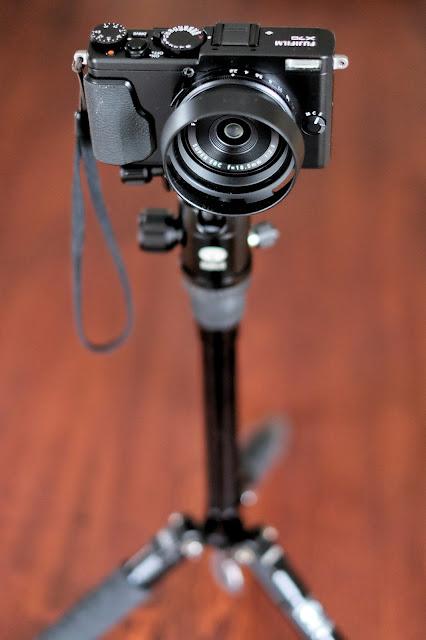 Fujifilm X70 tripod