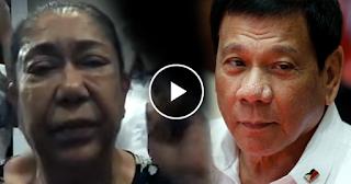 "Watch: Actress Odette Khan kay Pres. Duterte: ""Saludo ako sa inyo! You've done a Good Job!"""