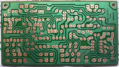 Stereo tone control pcb layout