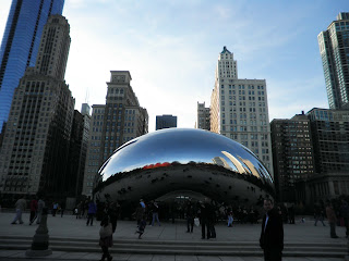 The magic bean del Millennium Park di Chicago