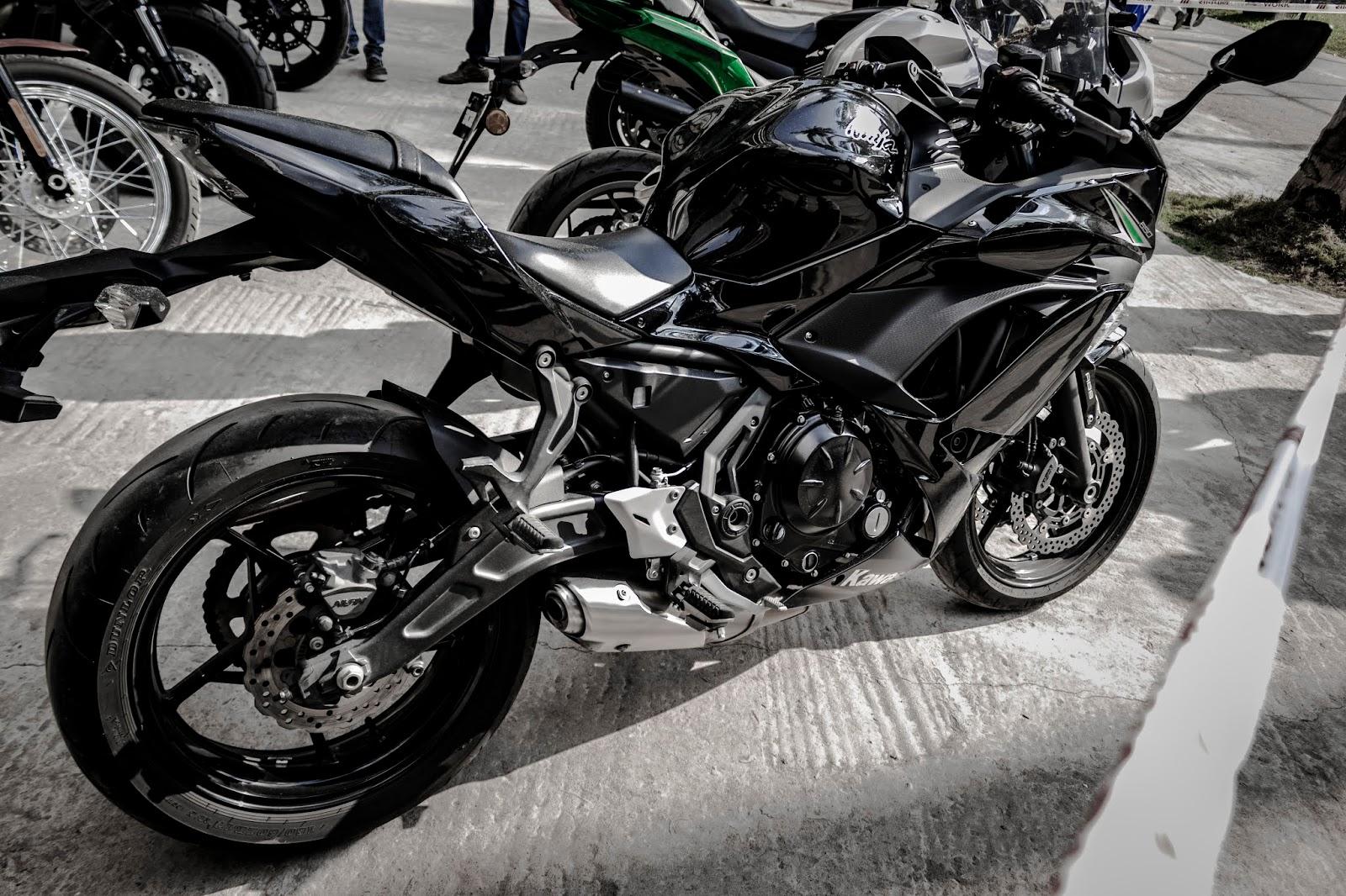Kawasaki Ninja - ZX10R - Showcase in KL University ~Vesh Lab