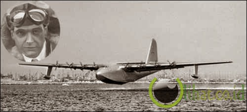 Pesawat Spruce Goose - Howard Hughes
