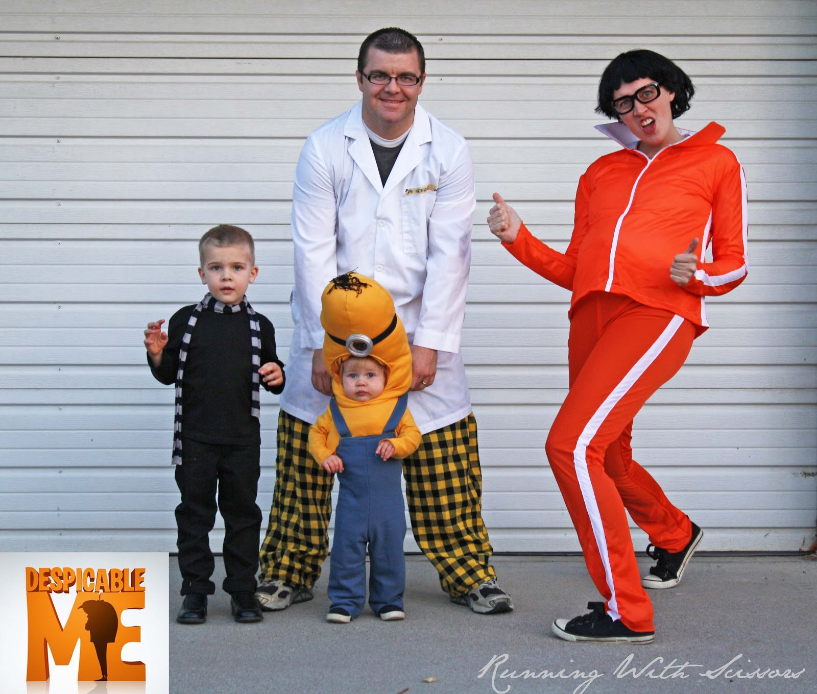 Despicable Me and Maternity Halloween Costume  sc 1 st  Running With Scissors & Running With Scissors: October 2012