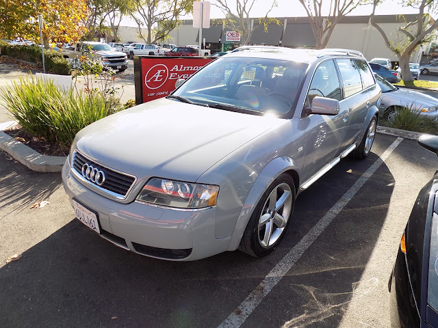 2004 Audi Allroad after color change at Almost Everything Auto Body.