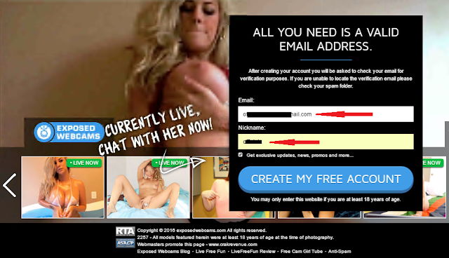 free porn with valid email address May-2017 09:39 AM.