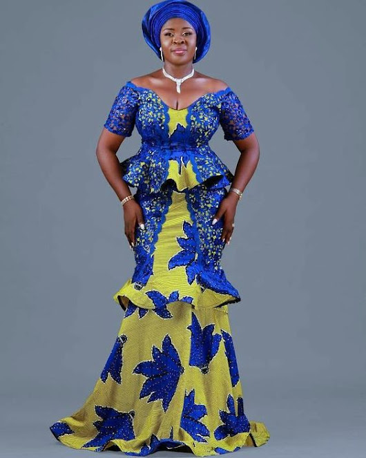 The latest Ankara style dress series in 2018