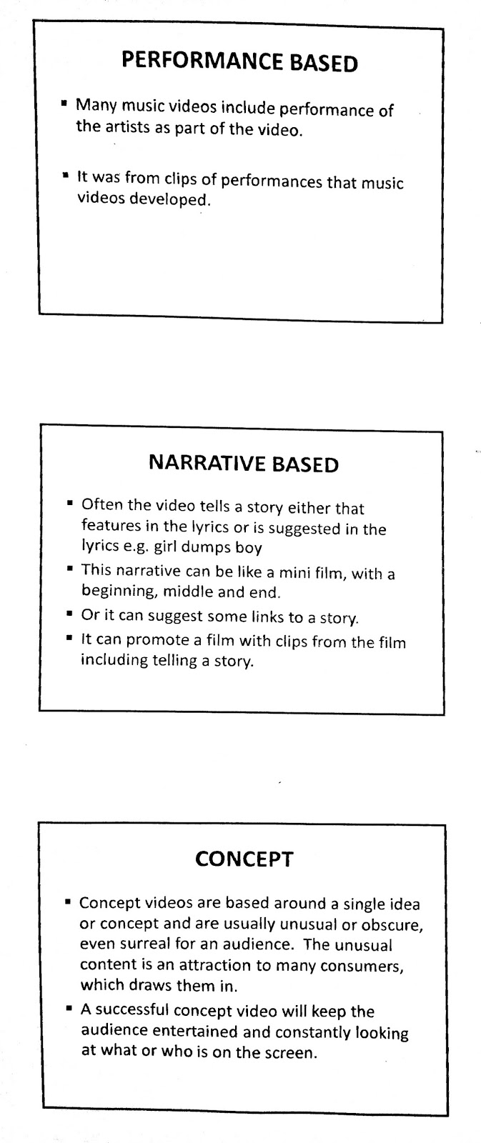 A2 media studies journey creating music video music video my classmates and i have been introduced the three different types that a music video could be categorized into and they are performance narrative buycottarizona