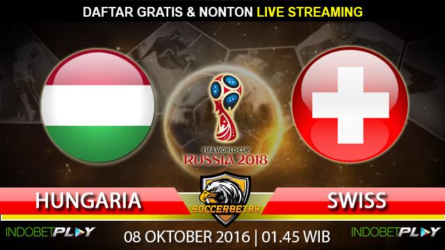 Prediksi Hungaria vs Swiss 08 Oktober 2016 (Piala Dunia 2018)