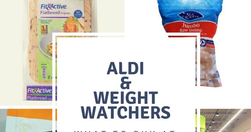 Weight Watchers on a budget - Aldi shopping list