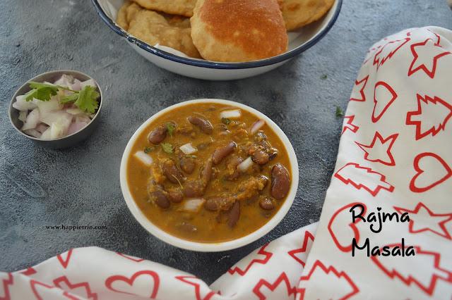 Rajma Masala Recipe   Punjabi Rajma Masala   Red Kidney Beans Curry