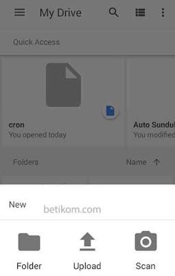 transfer foto di hp ke laptop dengan menggunakan google drive