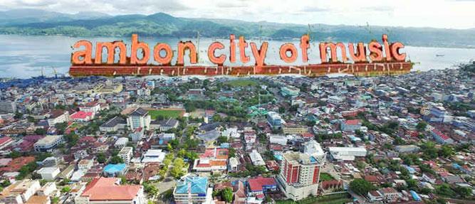 """Badan Ekonomi Kreatif (Bekraf) Republik Indonesia dan Pemerintah Kota Ambon, Maluku, berkoordinasi untuk pembukaan """"Ambon Musik Office"""" ."""