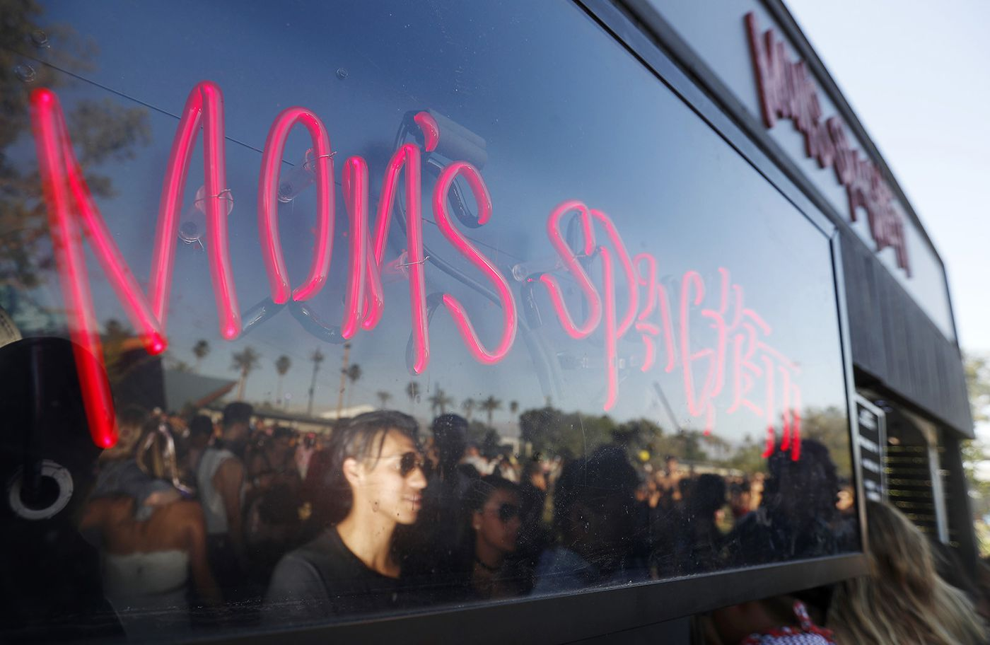 Eminem has a Mom's Spaghetti pop-up restaurant at Coachella