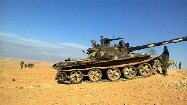 Ejército sirio sella toda la frontera entre Damasco y Jordania