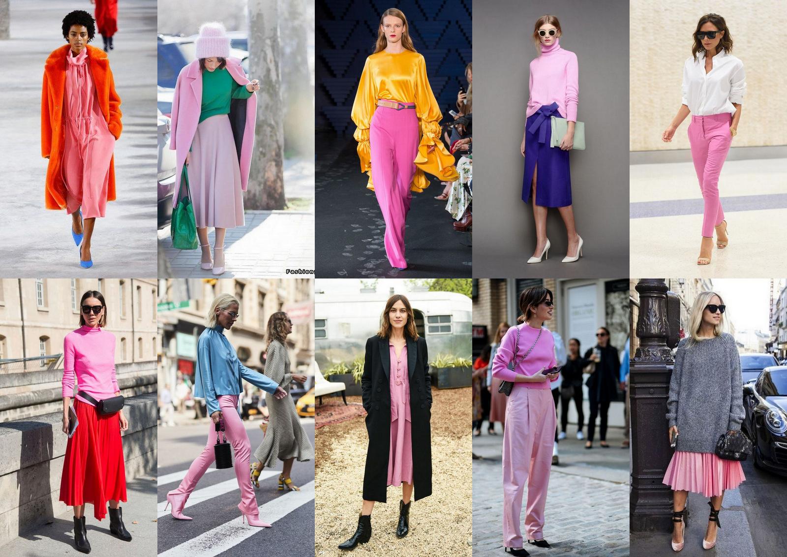 módny trend jar/leto 2018: RUŽOVÁ FARBA - s čím ju kombinovať a ako ju nosiť, aby ste nevyzerali ako cukrová vata  // fashion trend SS 2018: how to wear pink color