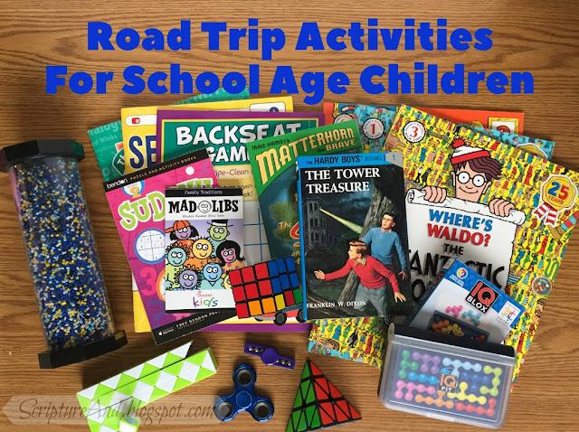 Road Trip Activities For School Age Children | scripturand.blogspot.com