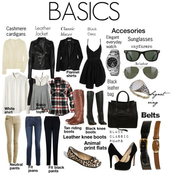 Clothes every girl should have