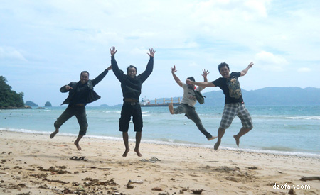 Photo wajib kalo lagi di laut