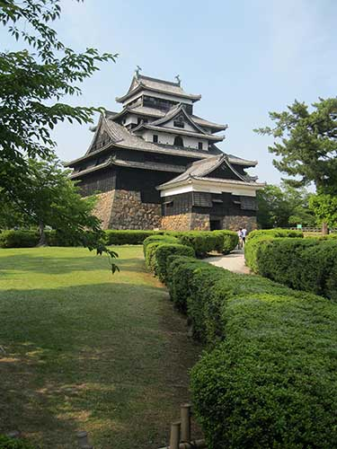 Matsue Castle Is Still There.