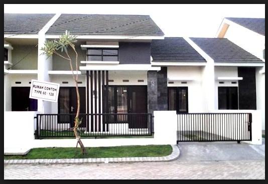 Model pagar rumah minimalis type 21
