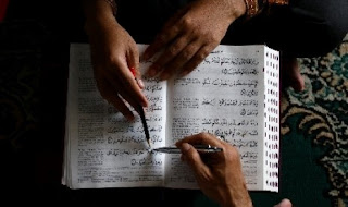Guru les privat mengaji Iqro' dan Al Qur'an ke rumah di Jakarta Depok