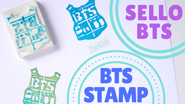 Koori Style, KooriStyle, Kpop, DIY, Tutorial, How, To, Como hacer, BTS, Bangtan, Bantan boys, Stamp, Eraser Stamp, Hanko, Easy, Simple, Facil, Borrador, Sello, BTS DIY, Tutorial BTS, Kpop DIY, tutorial Kpop