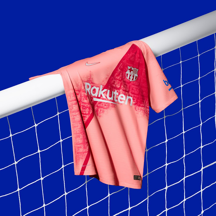 best website a44bd ae009 Nike FC Barcelona 18-19 Third Kit Released - Footy Headlines