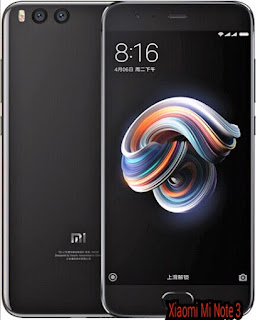 Xiaomi Mi Note 3 Full Specifications And Price