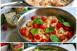 One Pot Low Carb Shrimp Alfredo