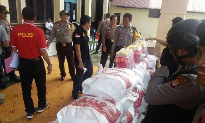 Tim Kalong Polres Soppeng Ringkus Pelaku Pencurian 50 Sak Tepung Terigu