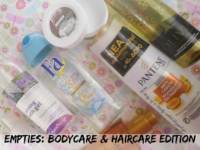 Empties #7 : Bodycare & Haircare Edition