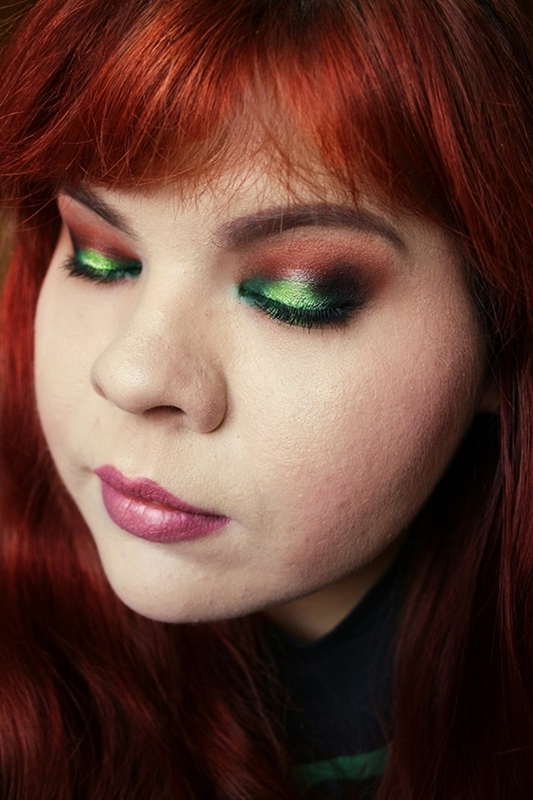 Zielone halo eyes