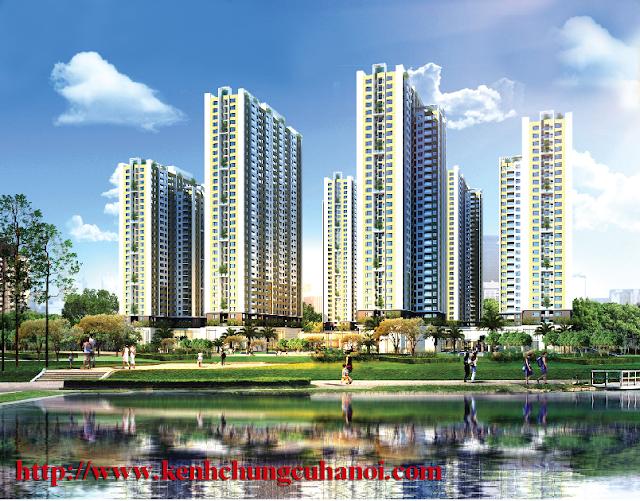 Phối cảnh chung cư An Bình City.