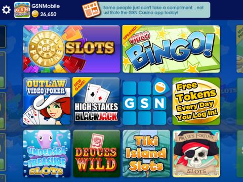 Gsn casino free token spin