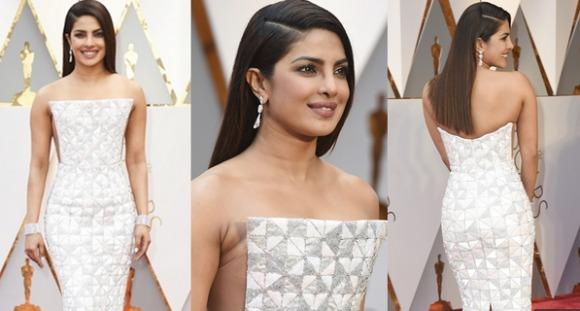 Priyanka Chopra Oscar's 2017 red carpet look