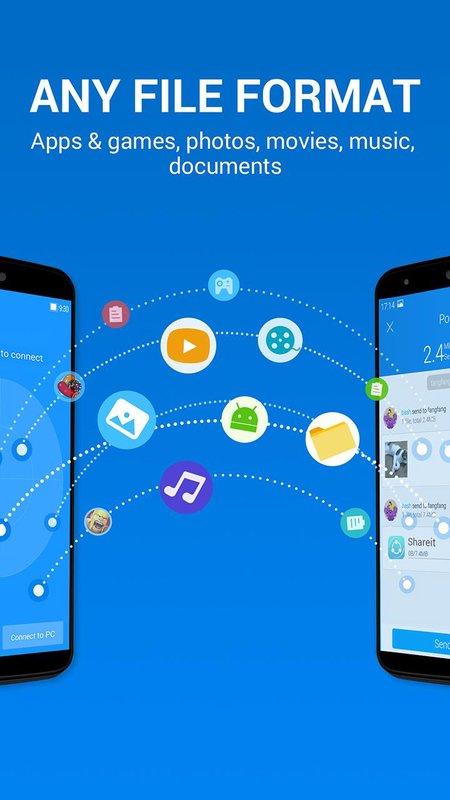 تحميل برنامج شير ات shareit للكمبيوتر و للاندرويد و للايفون مجانا برابط مباشر